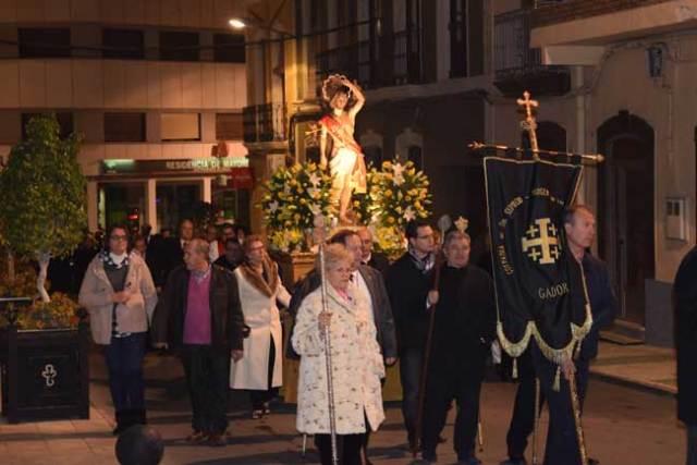 Procesión de San Sebastián en Gádor.