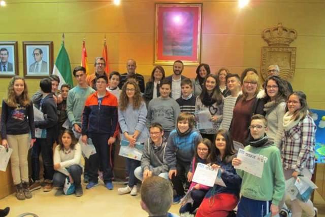 Participantes en la V Semana de la Ciencia de Gádor.