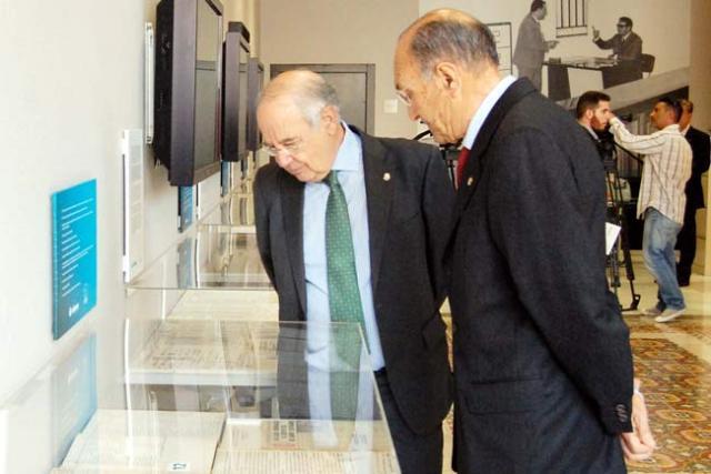 Antonio Pérez Lao y Juan del Águila.