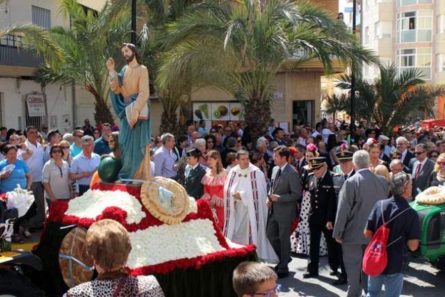 La romería de San Marcos reúne a miles de personas en El Ejido.