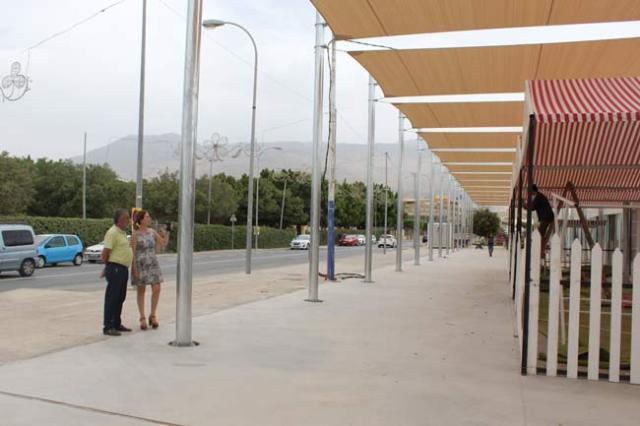 Se ultiman los detalles en el nuevo recinto ferial de El Ejido.
