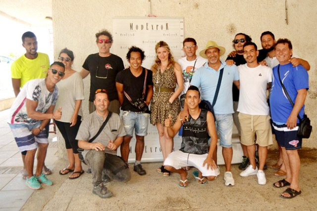 Participantes en los castings desarrollados en el Puerto.