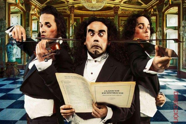 Clásicos Excéntricos mezcla música y teatro.