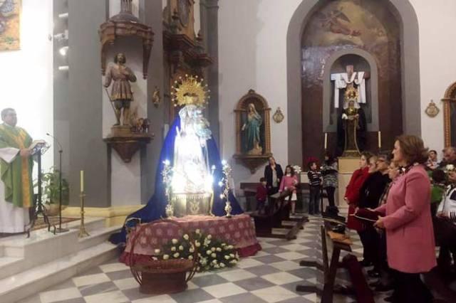 Virgen del Rosario, patrona de Gádor.