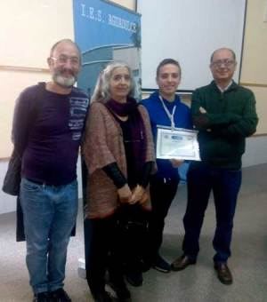 Segundo clasificado en el concurso del Boletín Matemático de la UAL.
