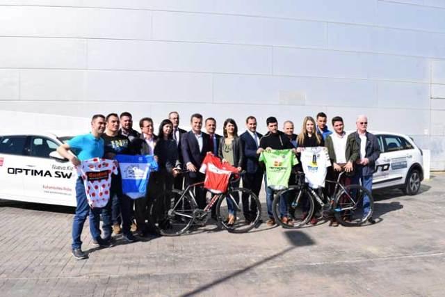 Presentación de la Vuelta Ciclodeportiva a Almería.
