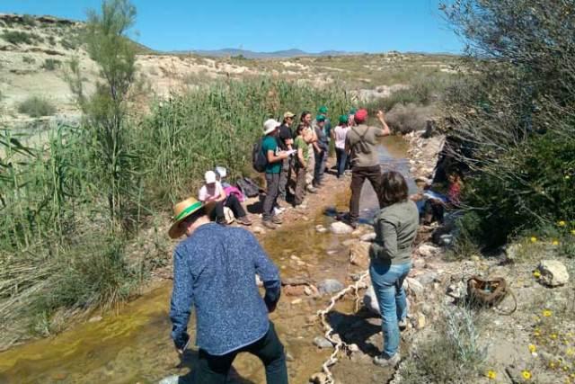 Voluntarios del programa Andarríos.