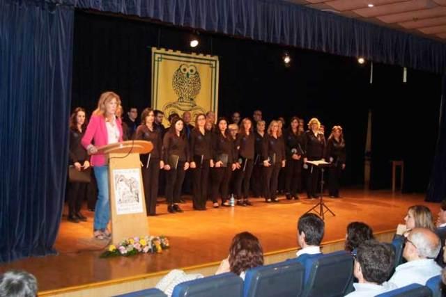 La concejala de Cultura de Roquetas presidió la entrega de premios del Certamen Literario.