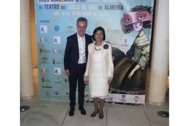 Carlos Hipólito y Mercedes Reyes son homenajeados en las Jornadas del Teatro del Siglo de Oro