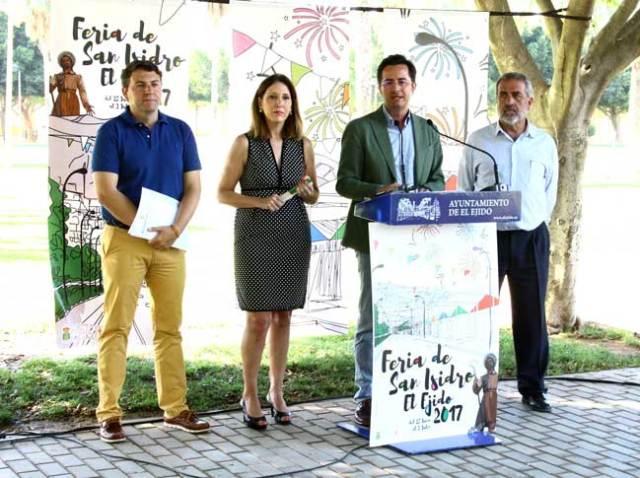 Presentación del programa de fiestas por San Isidro.