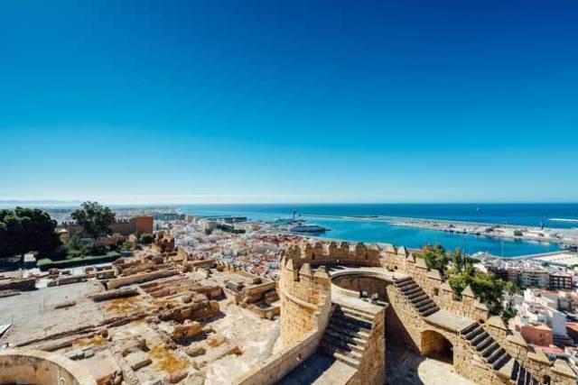 Alcazaba de Almería.