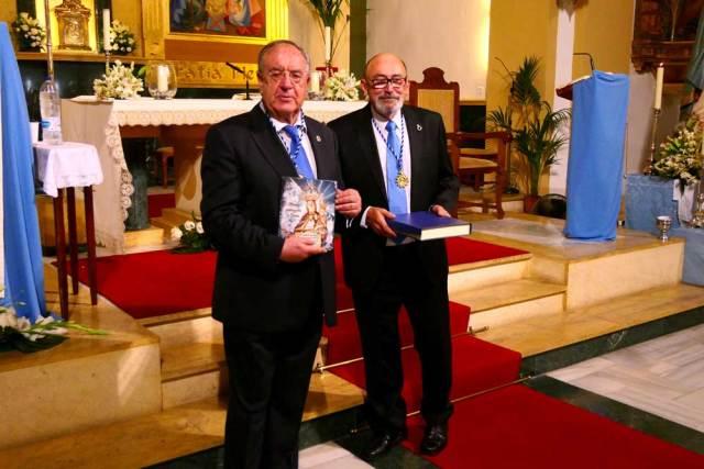 Guillermo Sena leyó el pregón de las fiestas.