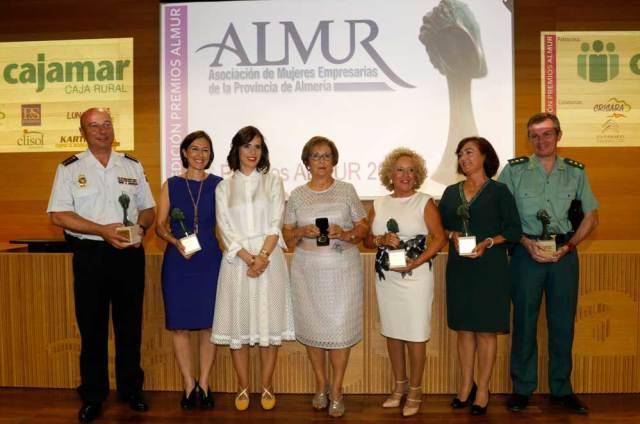 Premiados por ALMUR, la Asociación de Mujeres Empresarias de Almería.