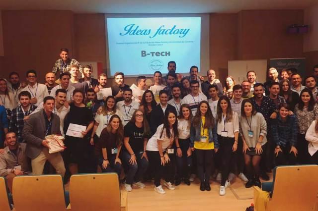Participantes en el Ideas Factory de la UAL.