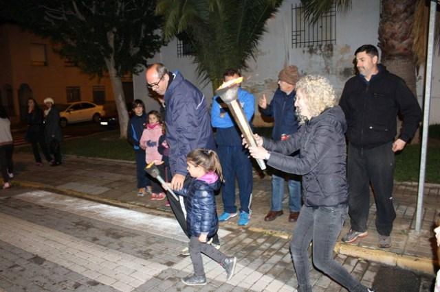 Fiesta de San Antón en Santa María del Águila.