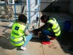 Diputación y CIESOL construyen una potabilizadora piloto
