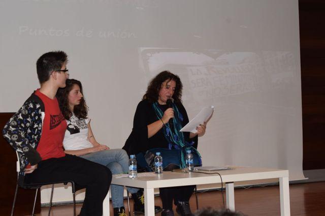 Mar Verdejo Coto en las III Jornadas Histórico Feministas de Sapere Aude UAL
