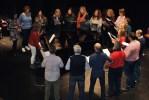 Inmaculada Llamas Sillero imparte un curso de técnica vocal en la Escuela de Música de Roquetas