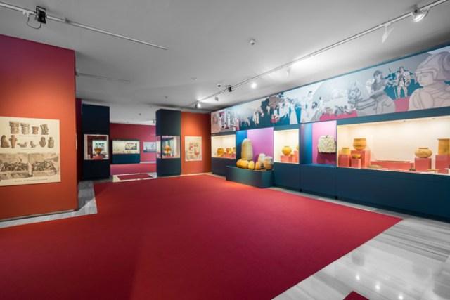 Exposición sobre Baria, en el Museo de Almería.