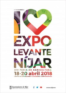 Cartel 10ª Expolevante Níjar
