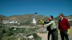 Liberada un águila culebrera en el valle de Huebro