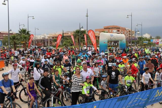 Día de la Bicicleta en El Ejido.