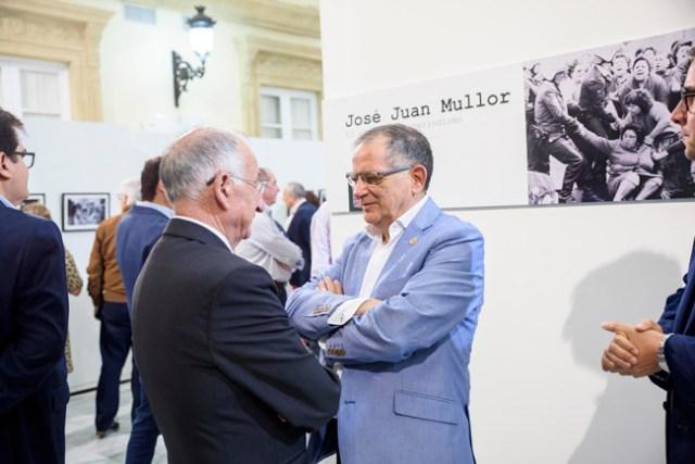 El presidente de la Diputación y José Juan Mullor.