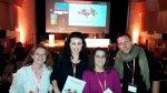 Verdiblanca, en el IV Congreso Internacional Universidad y Discapacidad celebrado en Madrid