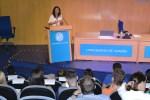 La presidenta del Parlamento de Andalucía, Marta Bosquet, visita la UAL
