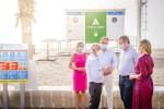 Las playas de Roquetas de Mar cuentan con el distintivo 'Andalucía Segura'