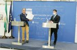 El Gobierno andaluz suscribe un convenio de colaboración con la Diputación de Almería para integrar los servicios de emergencias en el 112