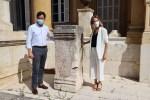 El Ayuntamiento de El Ejido recupera para su Patrimonio Histórico y Cultural el pedestal de Porcia Maura del siglo II
