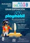 El Aula del Mar acoge durante el mes de enero una singular exposición de escenas marinas de Playmóbil