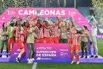 El Atlético de Madrid se proclama campeón de la Supercopa de España de fútbol femenino