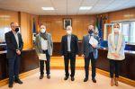 El Ayuntamiento y la Cámara de Comercio firman un convenio para la creación de una oficina en Roquetas