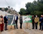 Crespo resalta el compromiso de la Junta con las infraestructuras y la higiene rural