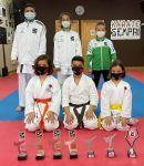 La escuela de Karate Sempai, de Roquetas de Mar, obtiene un tercer puesto nacional y suma cinco medallas esta temporada