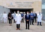 El rector de la UAL visita el Hospital Universitario Torrecárdenas