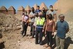 La Junta realiza sondeos arqueológicos en la muralla sur de la Alcazaba de Almería