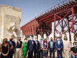 La Autoridad Portuaria de Almería presenta al ministro de Cultura la tercera fase de restauración del Cable Inglés