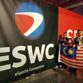 ESWC Paris Games Week - Team Malaysia