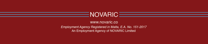 NOVARIC Footer Recruitment Agency