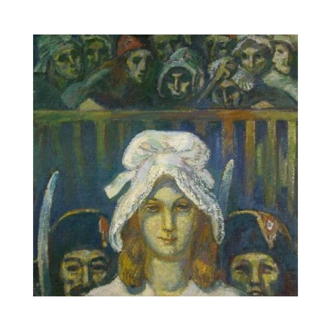 Avrutis kartina zhenskij portret SHarlotta Korde