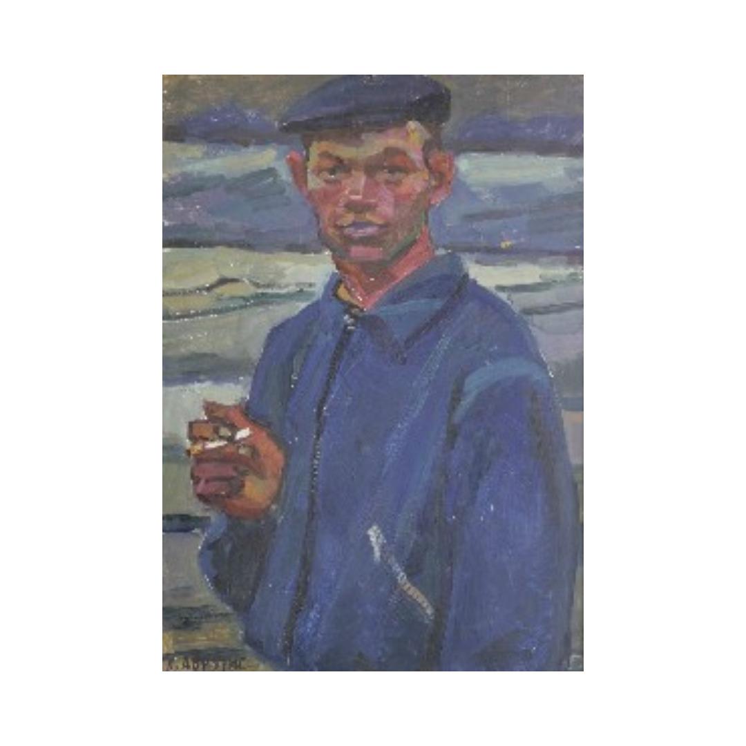 Avrutis kartina Portret Vitya