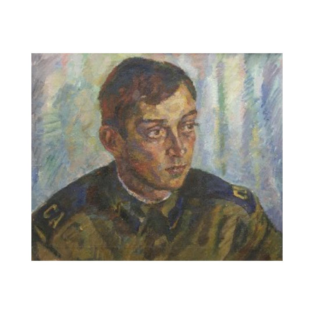 Avrutis kartina portret Alesha Belikov
