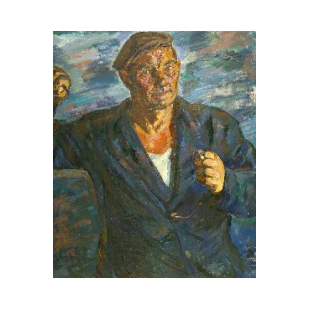 Avrutis kartina portret mekhanika Vyazova