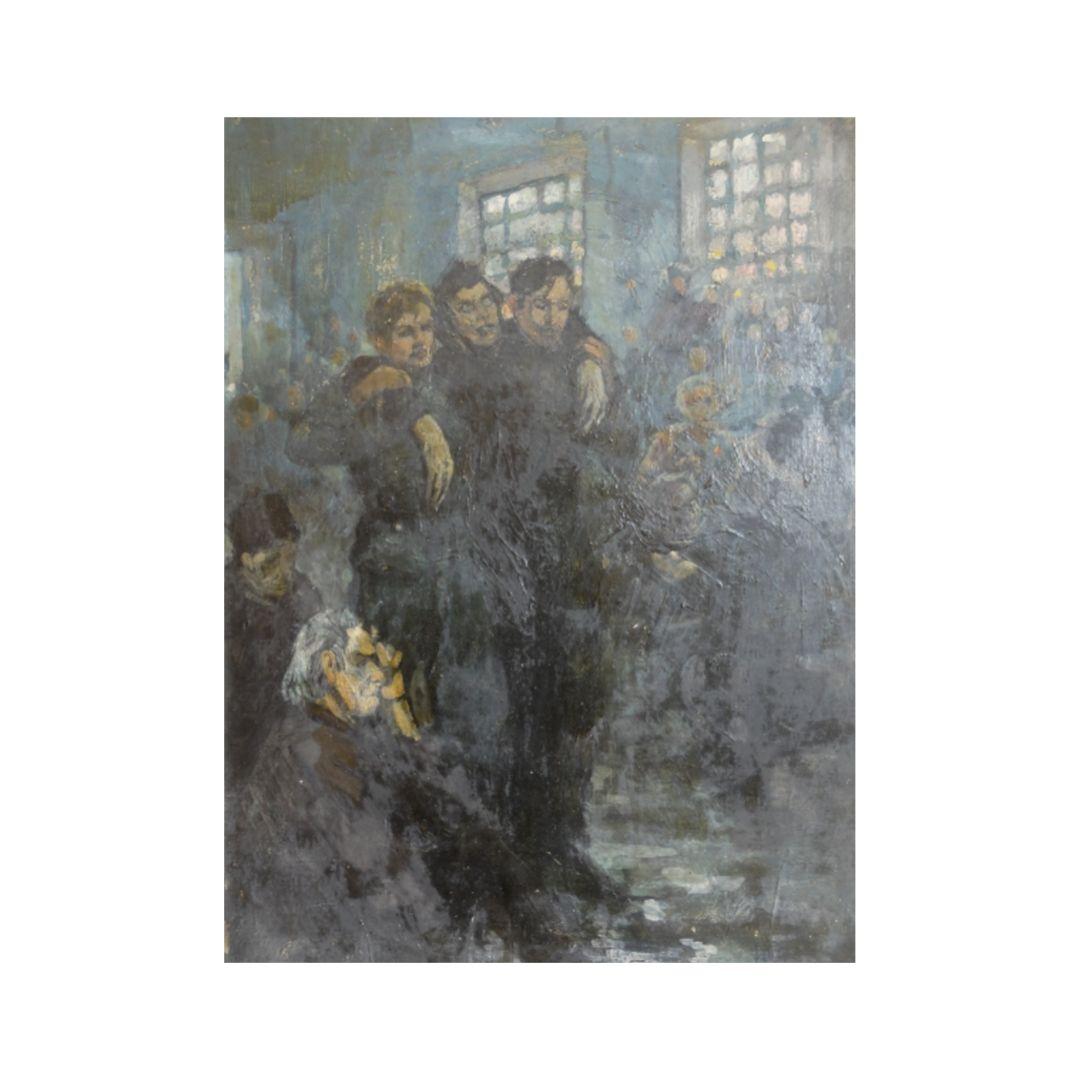 Ganzhinskij kartina V tyazhelyj 1941 god