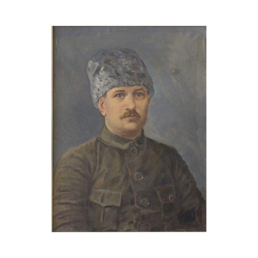 Ganzhinskij kartina Kartina. Portret Mamontova