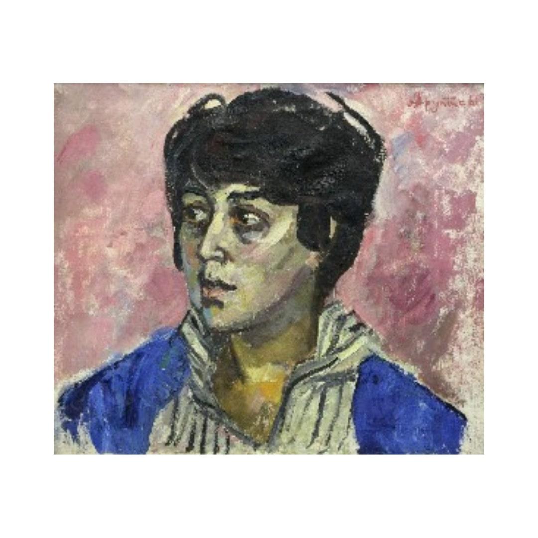 Avrutis kartina Portret Z.Ibragimovoj