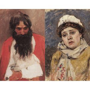 сибирские портреты сурикова